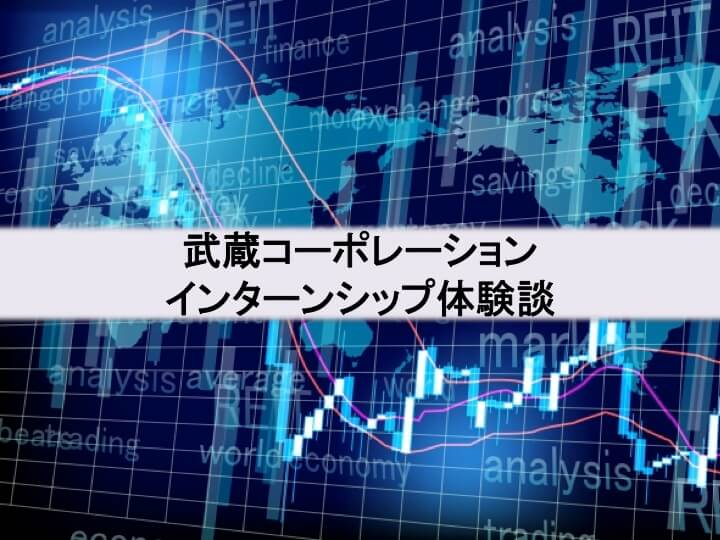 武蔵コーポレーションインターン体験談